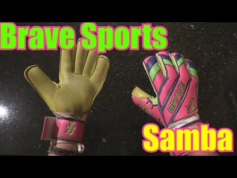 Goalkeeper Glove Review : Brave Sports Samba