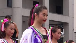 04 dance company reika組 第9回 草加駅前よさこいサンバフェスティバル 2018