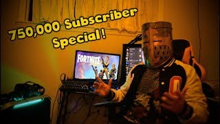 """""""Swagger Plays Fortnite""""   750k Special"""