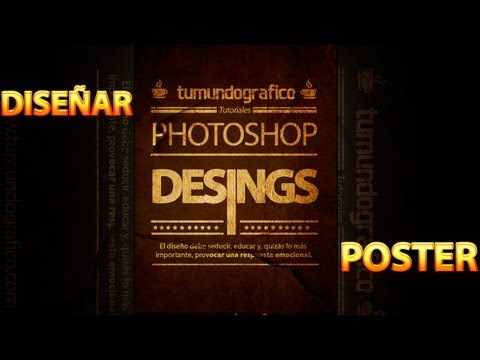 Tutorial Photoshop: Crear un poster