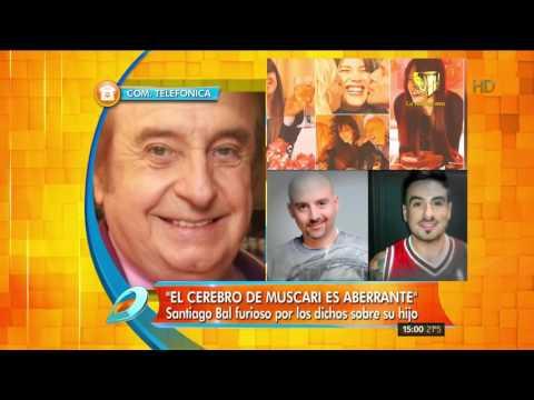 Santiago Bal tremendo contra Muscari: ¡Le voy a partir un palo por la cabeza