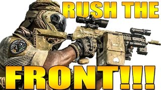 RUSH THE FRONT LINE! RUN INTO A WALL!!!