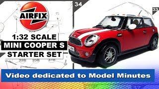Airfix 1/32 Scale Mini Cooper Starter Set ( Model Minutes Tribute Build)