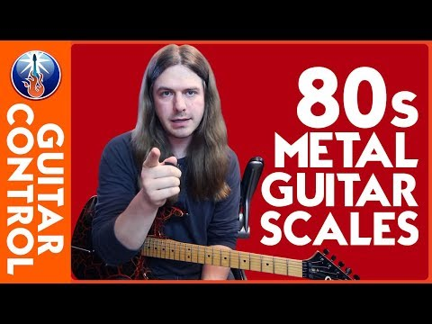 Ultimate 80s Metal Guitar Scales - Easy Lead Guitar Lesson On Scales