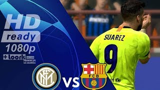 Inter vs Barcelona - Resumen Goals Highlights | Champions League 2018/19