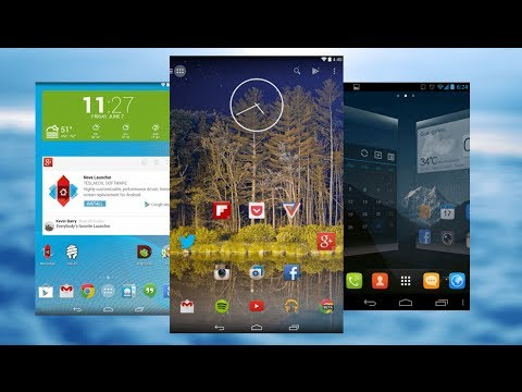 TOP 5   Mejores Launchers para Android   2015