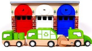 Garage Playset and Toy Vehicles for Kids | Learn Colors with Yippee Toys