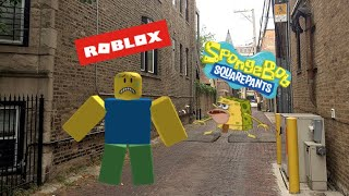 Roblox Stuff Portrayed By Spongebob 2