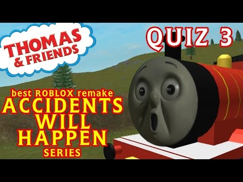 Accident will Happen | Thomas and Friends | Best Roblox Remake Quiz