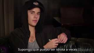 Justin Bieber contesta preguntas (Fishing for answers)- Traducido