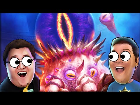 NEW HEARTHSTONE ADVENTURES! | Whispers of the Old Gods | Squadron Hearthstone Battles!