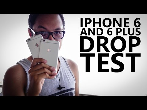 iPhone 6 vs 6 Plus Drop Test!