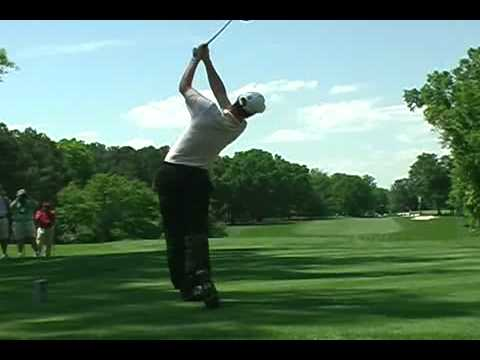 Justin Rose Golf Swing. Video