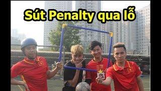 Thử thách bóng đá sút penalty qua lỗ nhận lì xì U23 Việt Nam - DKP