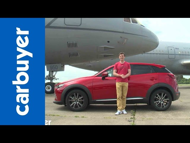 Mazda CX-3 review - Carbuyer - YouTube