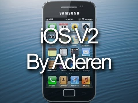 iOS ROM V2 for Samsung Galaxy Ace