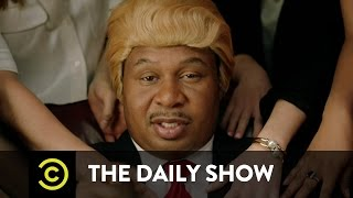The Daily Show  They Love Me Music Video  Black Trump ft. Jordan Klepper