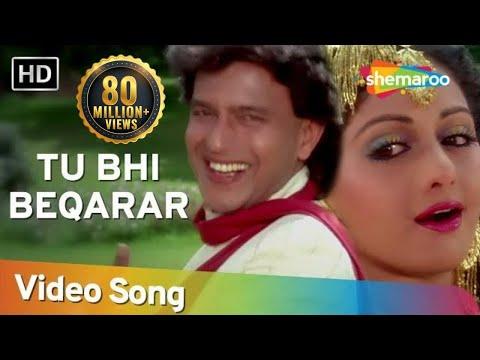 Tu Bhi Bekaraar - Mithun - Srdevi - Waqt Ki Awaz - Bollywood...