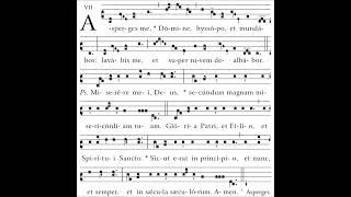 Asperges me - Gregorian Chant