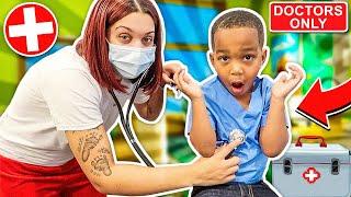 Doctor Kids Hide & Seek!