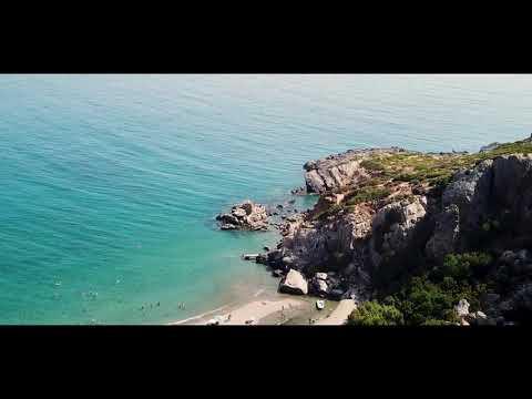 Crete - Preveli Beach - Drone