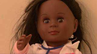 Toddler has perfect response for cashier who questioned black doll