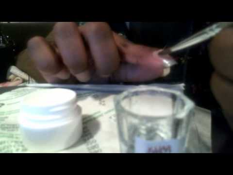 How to: Apply Acrylic to Natural and False Nails