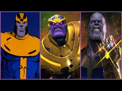 Thanos - Evolution in Cartoons and Films