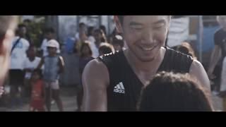 Japan international football sensation, Shinji Kagawa, visits children in Tacloban, Philippines