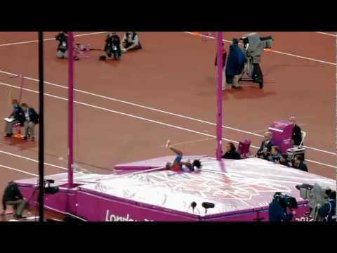 London Olympics 2012 -  Yarisley Silva- Pole Vault Final
