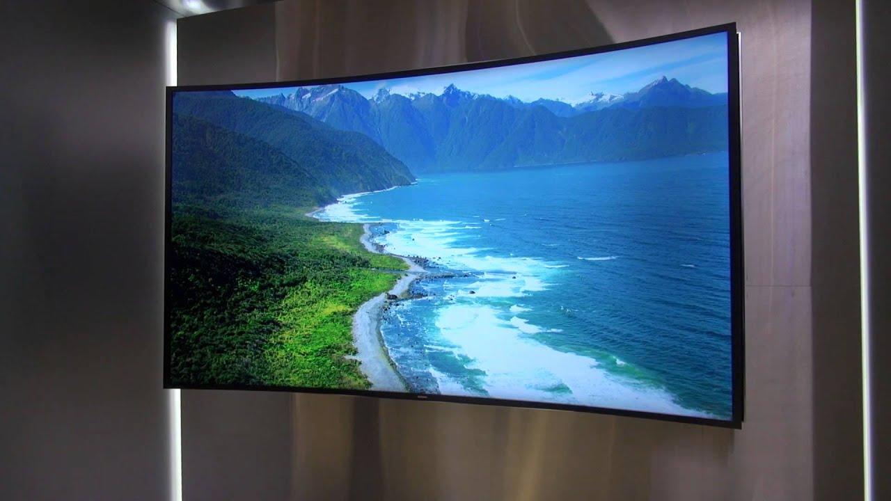 Curved QLED TV QE55Q8C  Samsung