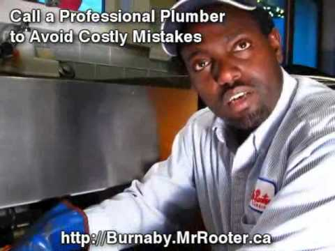 Power Snake Drain Cleaning. Professional Plumbing Service
