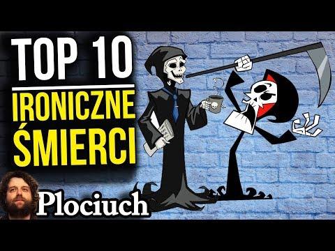 TOP 10 - Niewiarygodne I Ironiczne Przyczyny Śmierci - Plociuch Analiza