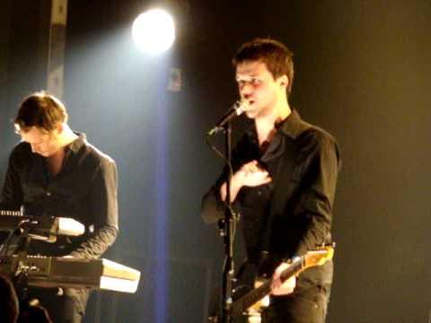 White Lies - EST live Warszawa 07.02.2010 Stodoła