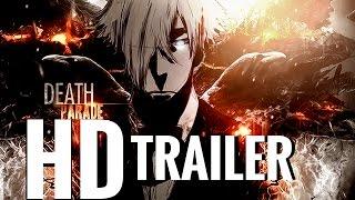 Death Parade Trailer (English Dub) HD + Subs CC