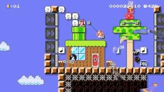Girl POWer! by Mark - SUPER MARIO MAKER - No Commentary