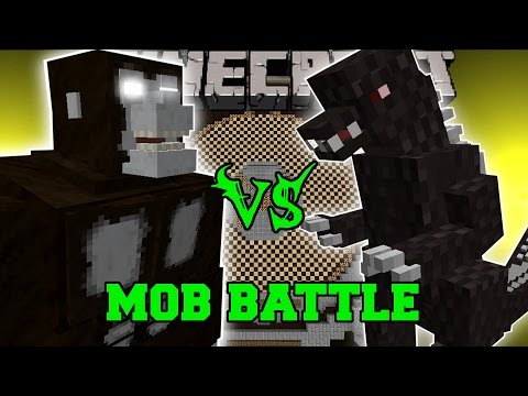 King Kong Vs Godzilla - Minecraft Mob Battles - Mods video