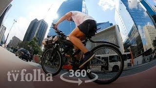 Veja vídeo 360º da nova ciclovia da avenida Paulista