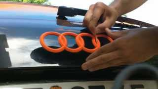 play how to plasti dip blaze orange neon orange audi a6. Black Bedroom Furniture Sets. Home Design Ideas
