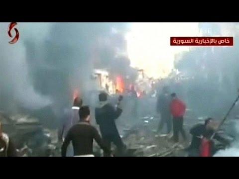 Syrie : 16 morts dans un attentat à Homs, les rebelles s'en vont