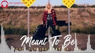 Download Lagu Bebe Rexha - Meant to Be (feat. Florida Georgia Line) [8d audio] Gratis STAFABAND