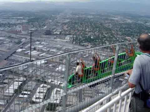 Las Vegas Stratosphere X Scream Ride