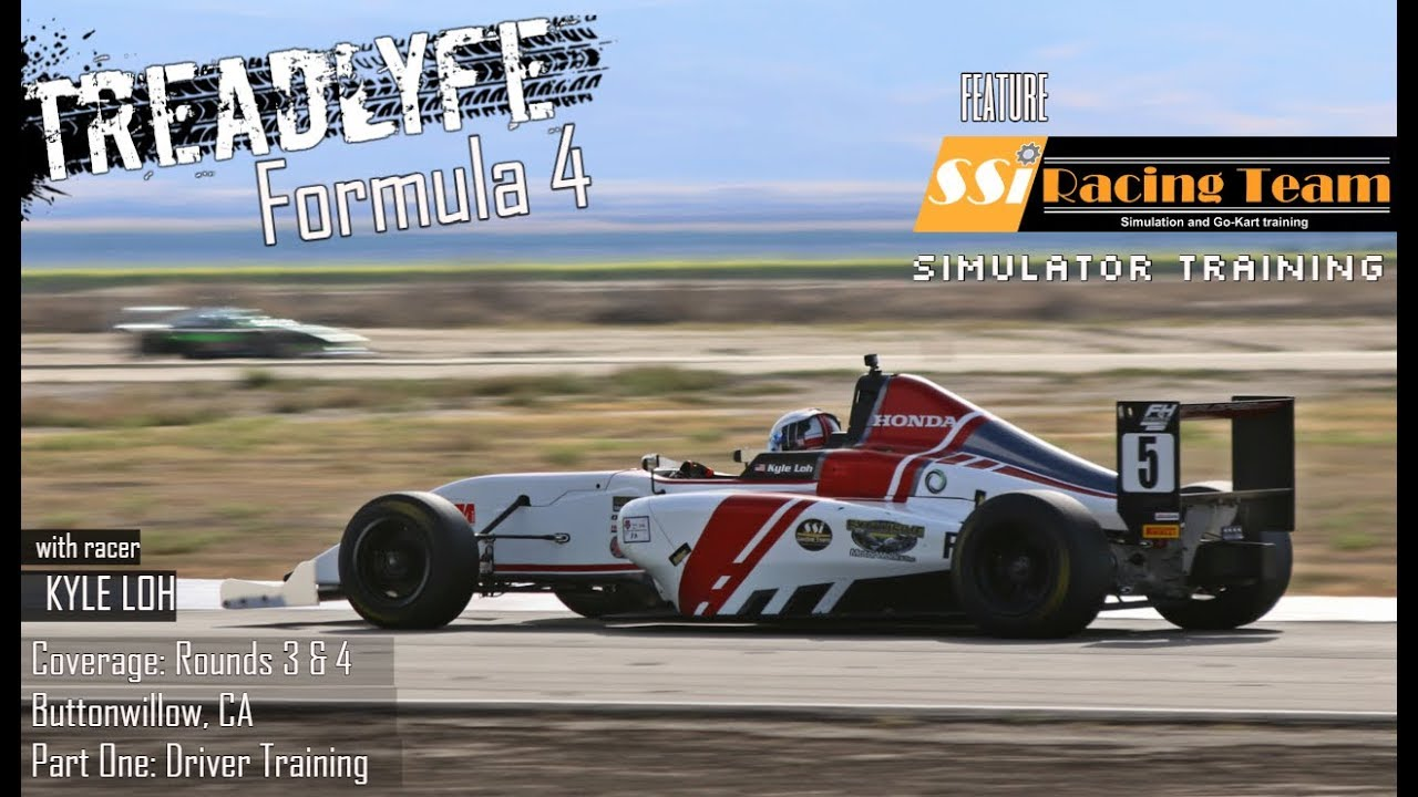 TREADLYFE | Formula 4 - Rounds 3 & 4 | Driver Training: Simulators