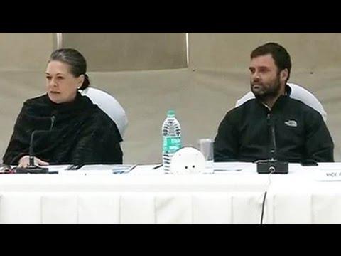 At Congress brainstorming meet, Sonia Gandhi targets PM Modi