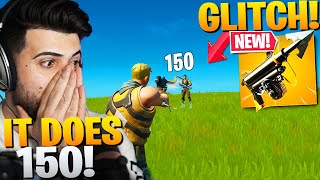The Harpoon Gun GLITCH Can Do *150 DAMAGE*! (FIX THIS EPIC!) - Fortnite Battle Royale Chapter 2