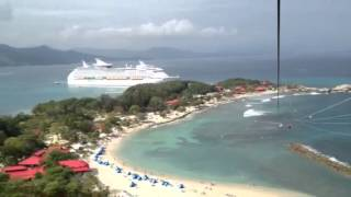 Dragons flight zip line labadee