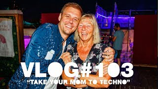 Armin VLOG #103 - Take Your Mom To Techno [Tomorrowland 2019]