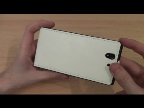 Muvit Slim Flip Sony Xperia Z Case Review
