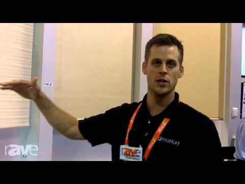 CEDIA 2013: Qmotion Shows its Battery Operated Roller Shades