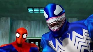 Spider-Man All Cutscenes (Game Movie) Full Story - PS1 Classic
